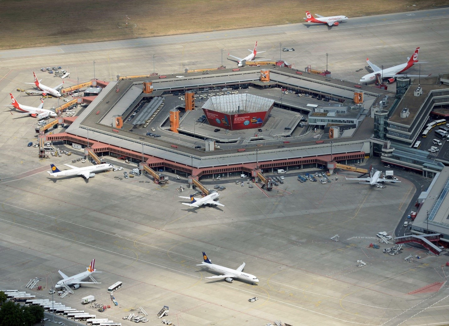 Icon Tegel Airport threatened by massive interventions